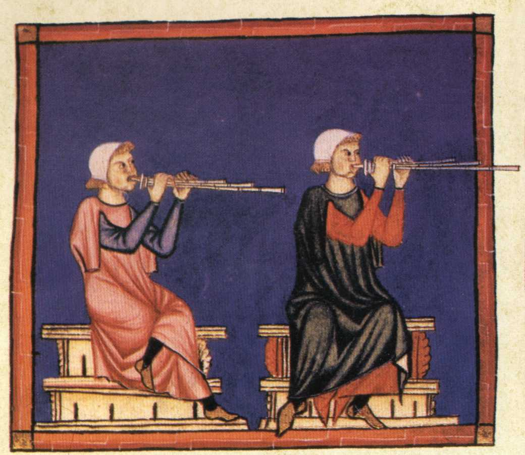 musicians from the codice de los musicos