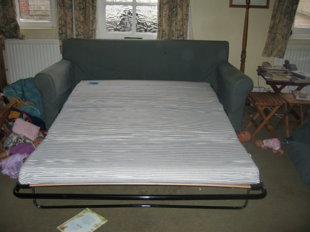 This Sofa Bed Originally From Habitat Is About 10 Years Old As A It S Bit Firm Under The Seat And Over Padding On Arms Has