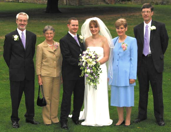 Joseph Talbot : Photos : The Bride and Groom and their parents