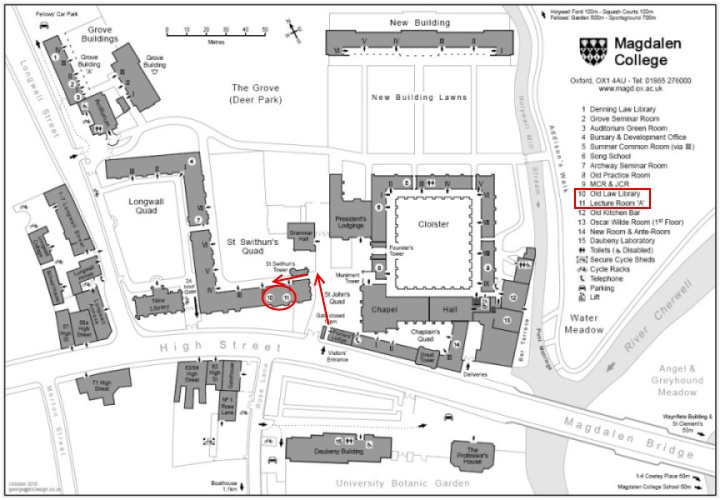 Doctor To Go Or Not To Go >> The Old Law Library - Magdalen - The Oxford Doctor Who Society